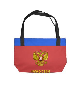 Пляжная сумка Сборная России по хоккею