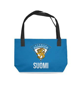 Пляжная сумка Сборная Финляндии