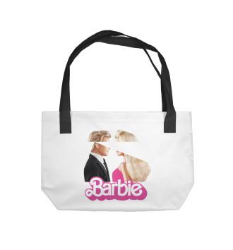 Пляжная сумка Барби и Кен