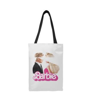 Сумка-шоппер Барби и Кен