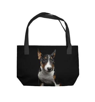 Пляжная сумка Бультерьер