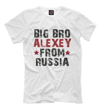 Мужская Футболка ALEXEY