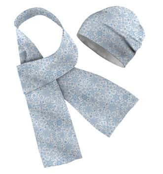 Шапка и шарф Зимние Узоры