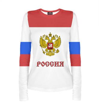 Женский Лонгслив Сборная России по хоккею
