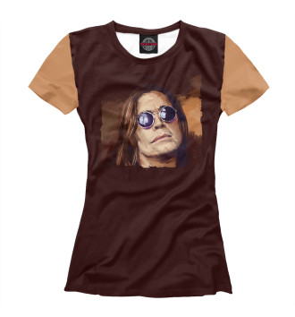 Женская Футболка Ozzy Osbourne