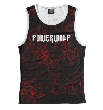 Женская Майка Powerwolf