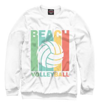 Мужской Свитшот Beach Volleyball