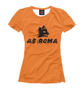 Женская Футболка AS Roma