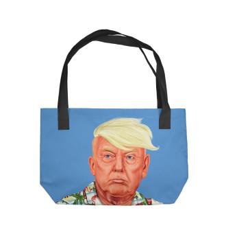 Пляжная сумка Дональд Трамп