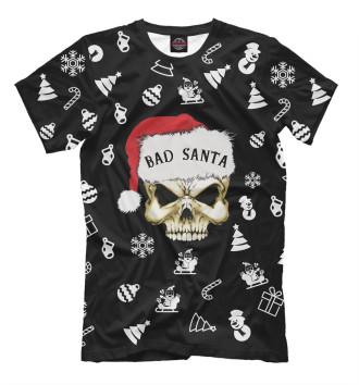 Мужская Футболка Bad Santa