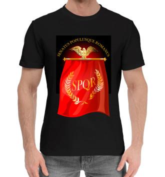 Мужская Хлопковая футболка Символ Древнего Рима