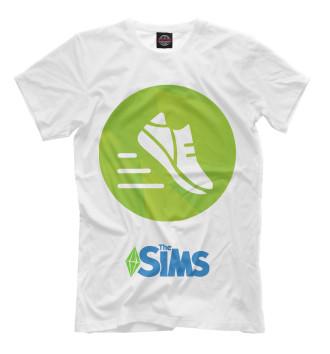 Мужская Футболка The Sims Фитнес