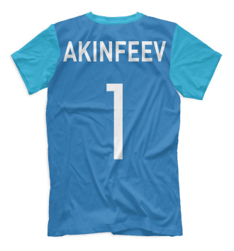 Мужская Футболка Акинфеев