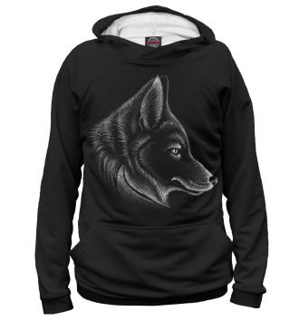 Худи для девочек Волк