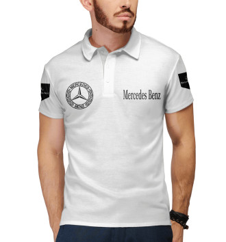 Мужское Поло Mercedes-Benz