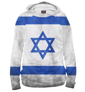 Женское Худи Флаг Израиля