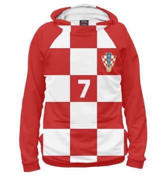 Мужское Худи Ракитич Хорватия 7