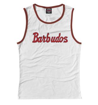 Женская Майка Barbudos (Бородачи, Сьенфуэгос)