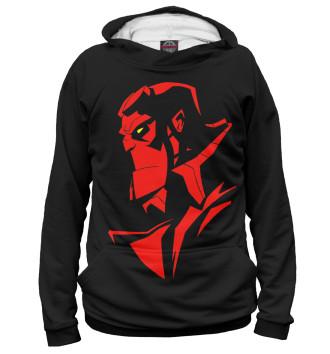 Женское Худи Hellboy