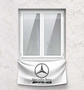 Флаг Mercedes-Benz AMG