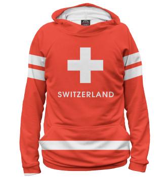 Мужское Худи Сборная Швейцарии