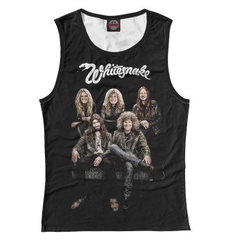 Женская Майка Whitesnake