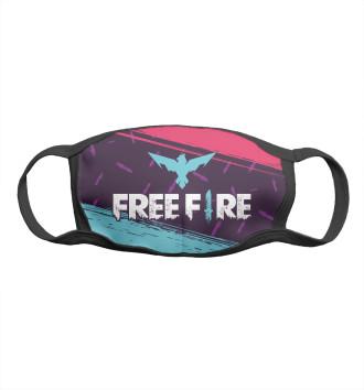 Женская Маска Free Fire / Фри Фаер