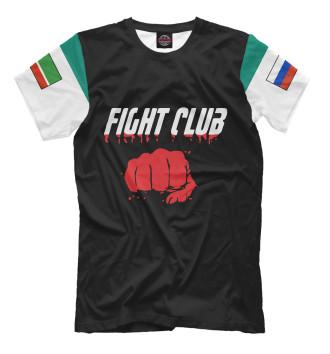 Мужская Футболка Fight club