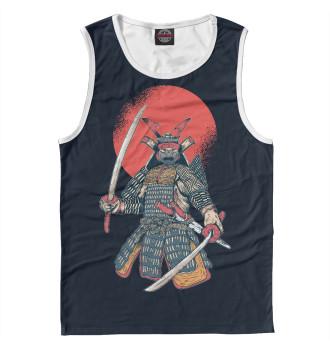 Мужская Майка Samurai of Tsushima