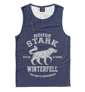 Мужская Майка Winterfell