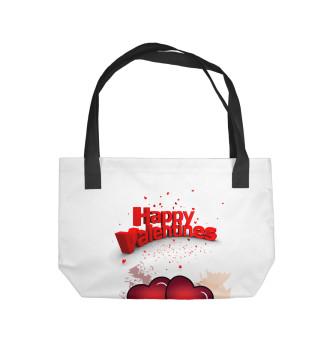 Пляжная сумка С любовью