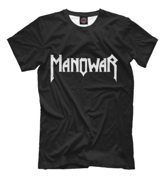 Мужская Футболка Manowar