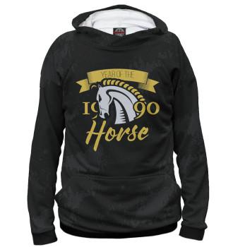 Женское Худи Год лошади — 1990
