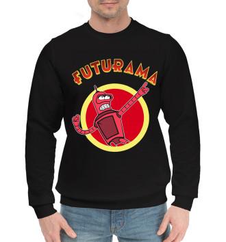 Мужской Хлопковый свитшот Futurama