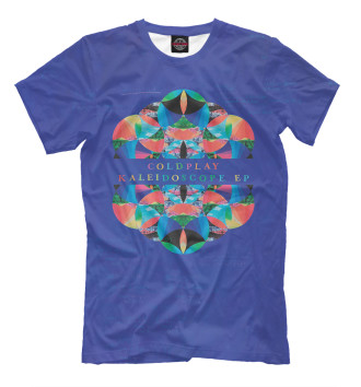 Мужская Футболка Coldplay - Kaleidoscope
