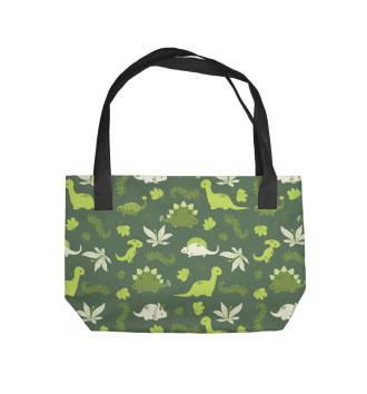 Пляжная сумка Динозавры