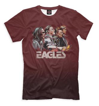 Мужская Футболка Eagles
