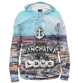 Женское Худи From Kamchatka With Love