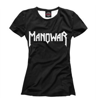 Женская Футболка Manowar