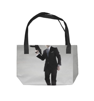 Пляжная сумка Джеймс Бонд