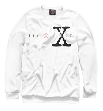 Мужской Свитшот The X-Files logo