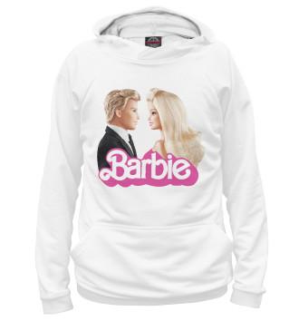 Женское Худи Барби и Кен