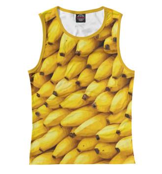 Женская Майка Бананы 3D
