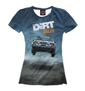 Женская Футболка Dirt Rally