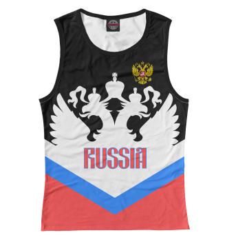 Женская Майка Россия