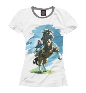 Женская Футболка The Legend of Zelda Horses