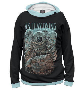 Женское Худи As I Lay Dying