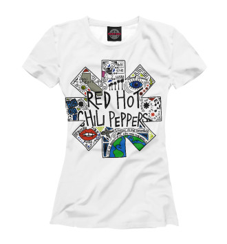 Женская Футболка Red Hot Chili Peppers
