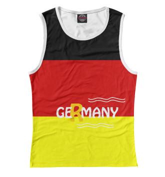 Женская Майка Германия