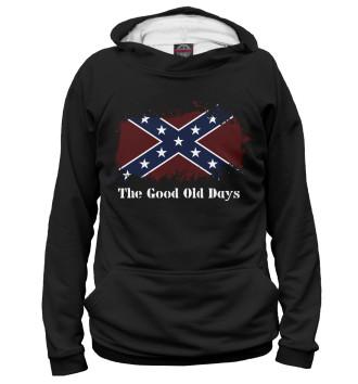 Мужское Худи Старые времена Конфедерации